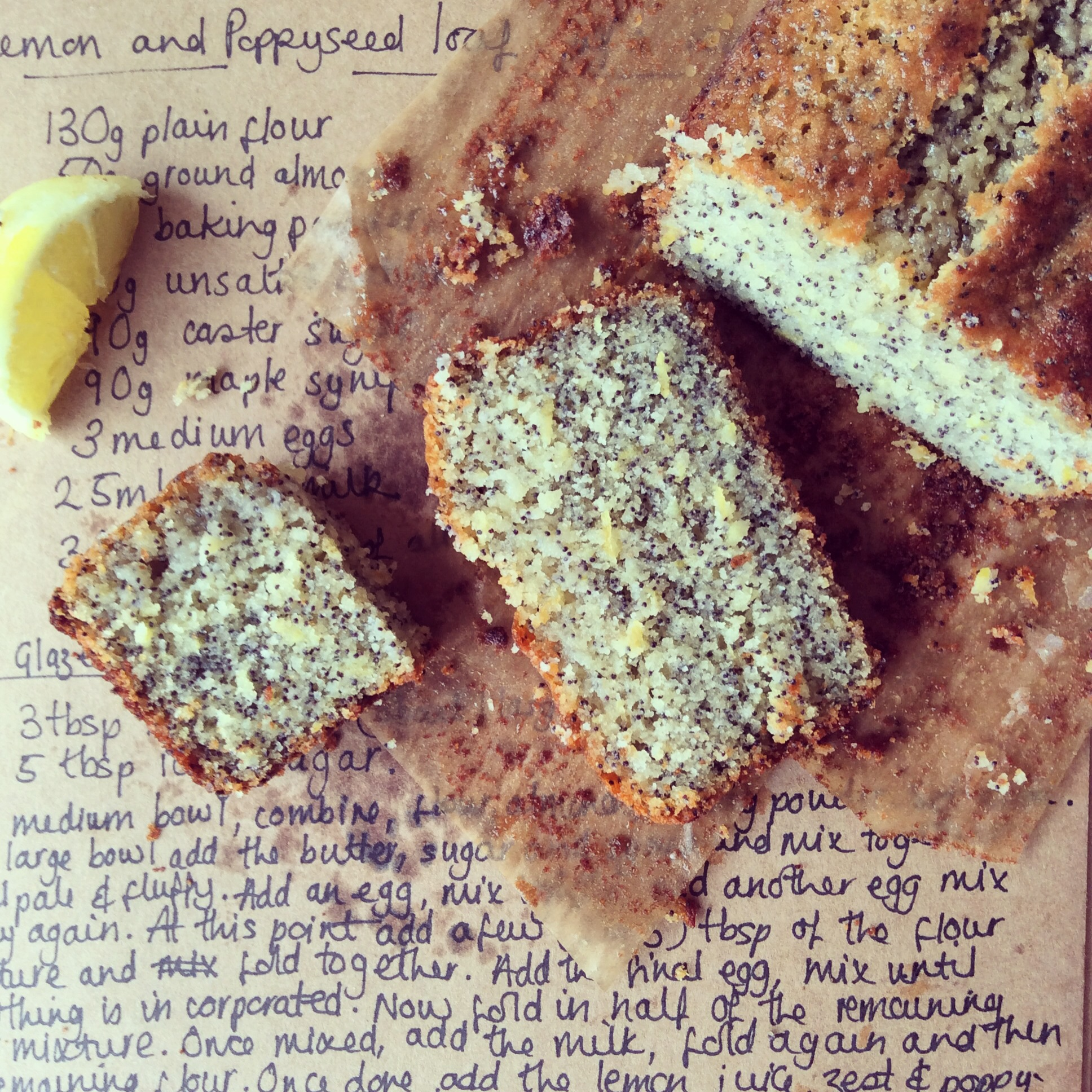 Lemon and poppyseed