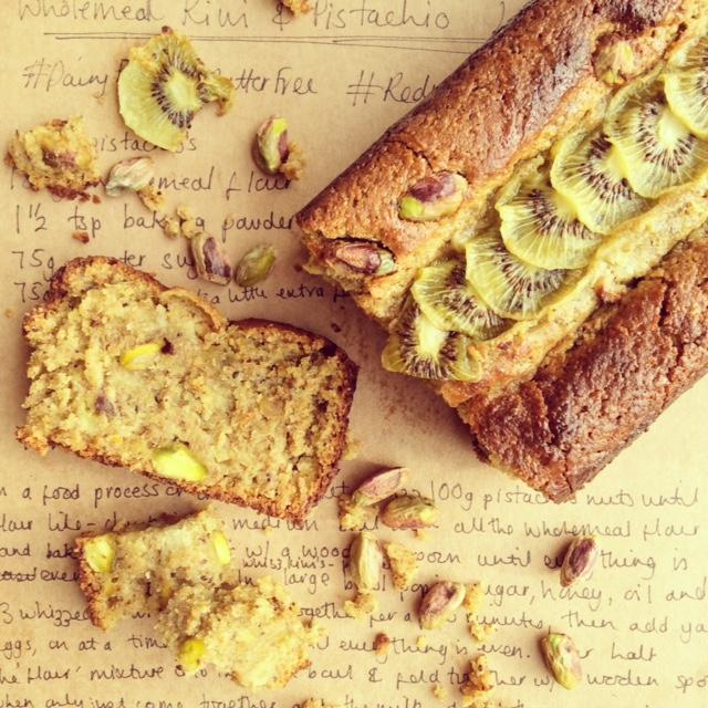Wholemeal Kiwi & Pistachio Loaf