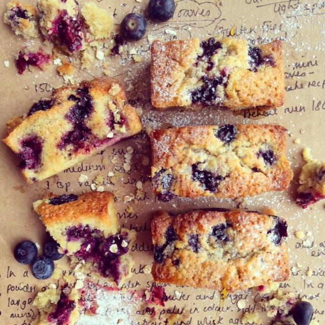 Purple Fruit Loaves