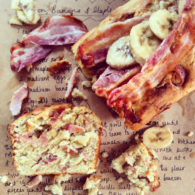 Bacon, Banana and Maple Loaf
