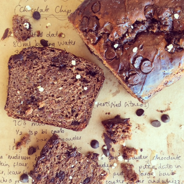 Chocolate Chip Protein Loaf