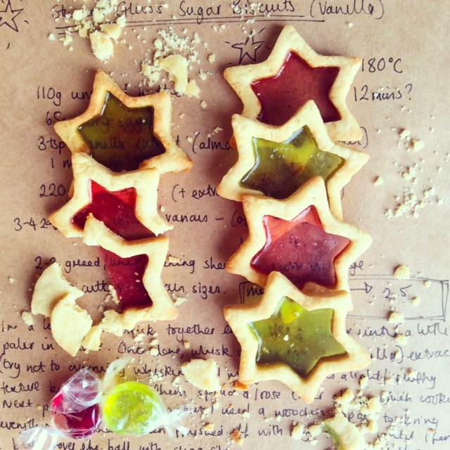 Stained Glass Sugar Cookies Baking Brightbaking Bright