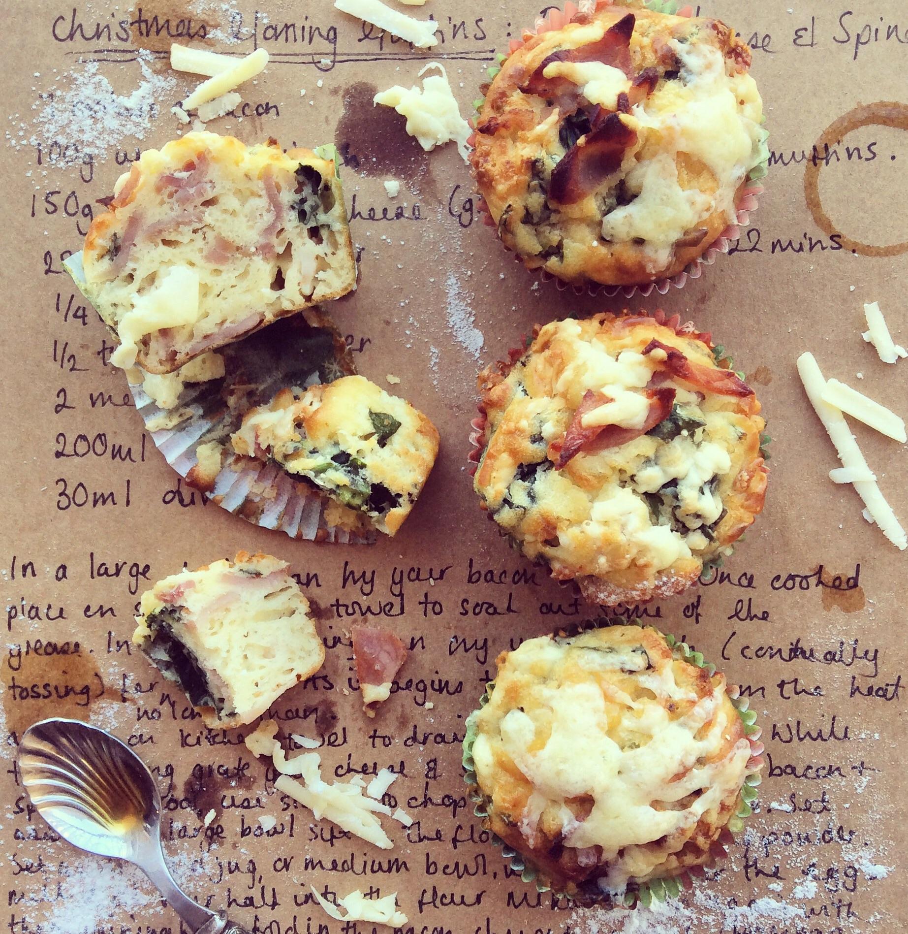 Christmas breakfast muffins
