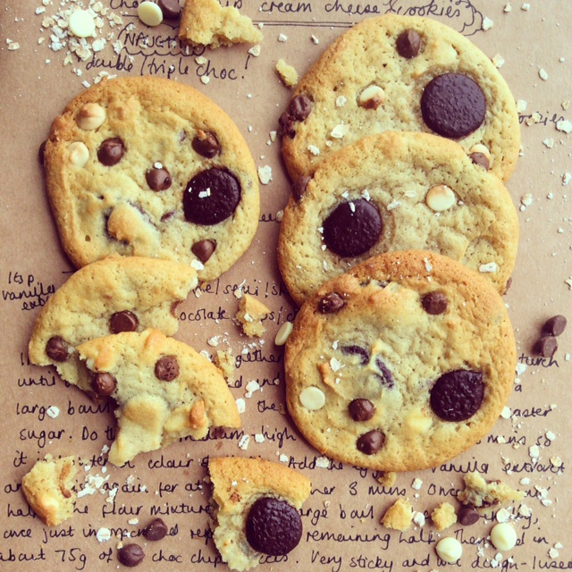 Soft & Chewy American Style Cookies
