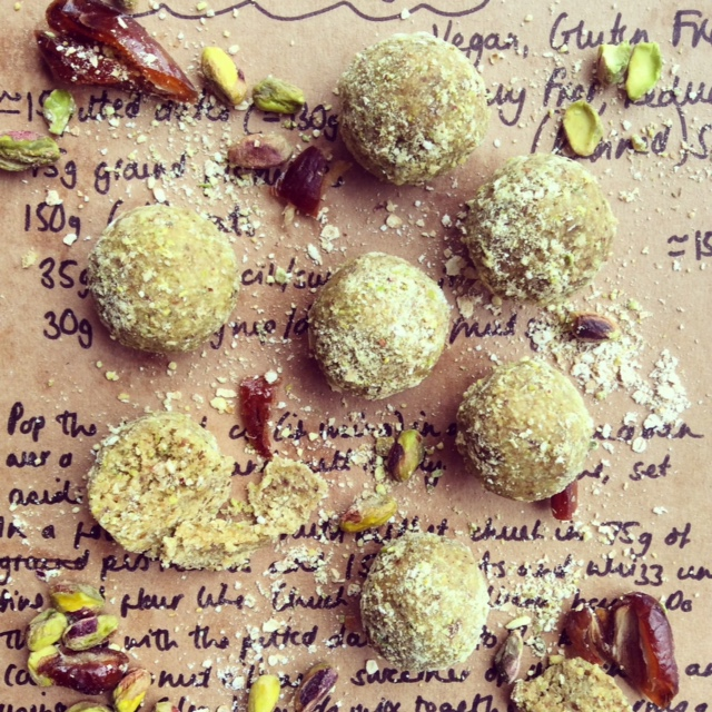 Pistachio Power Balls