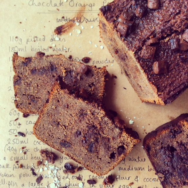 Chocolate Orange Protein Bread
